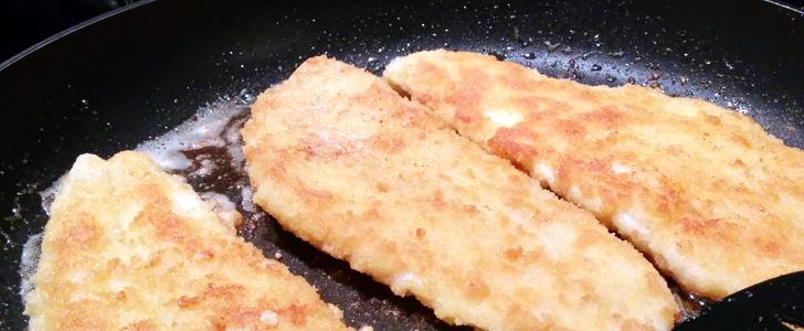 panerad torsk i ugn