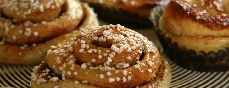 glutenfria kanelbullar recept